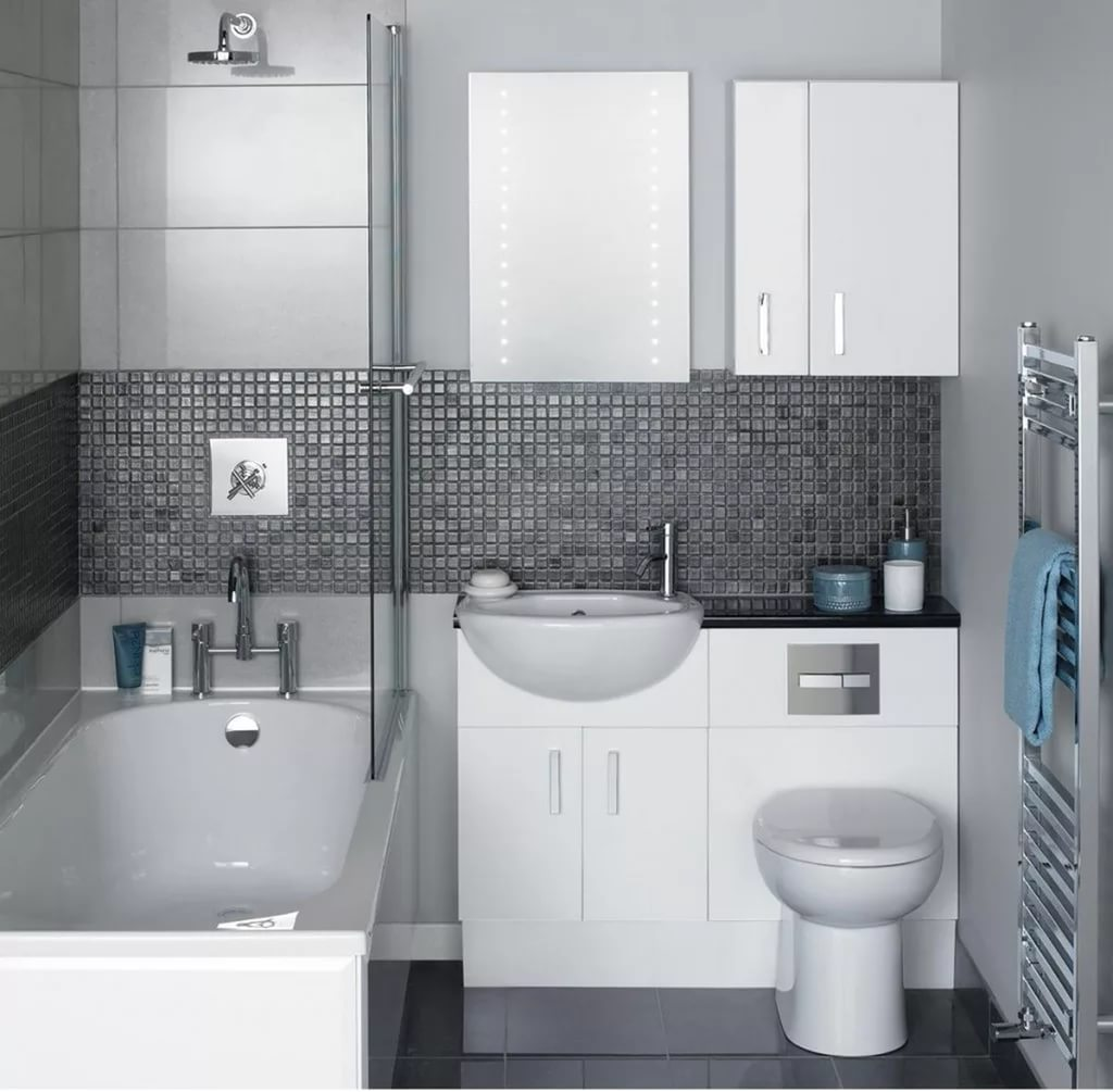 Interior of the bathroom photogallery. Design and renovation in a ...